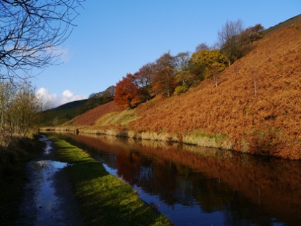 The Rochdale Canal near Walsden