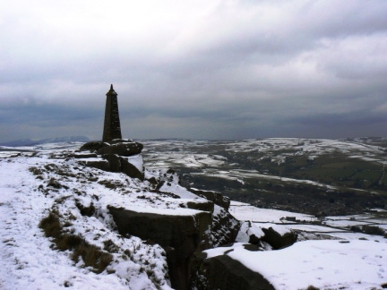 Wainman's Pinnacle on Earl Crag