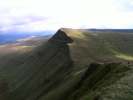 Cribyn - one of the most shapely of the Brecon Beacons