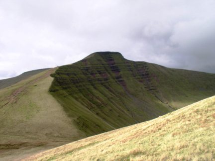 Pen y Fan the highest of the Brecon Beacons and the highest point in Southern Britain