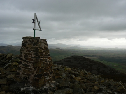 The summit of Yr Eifl - the highest point on the Llŷn Peninsula