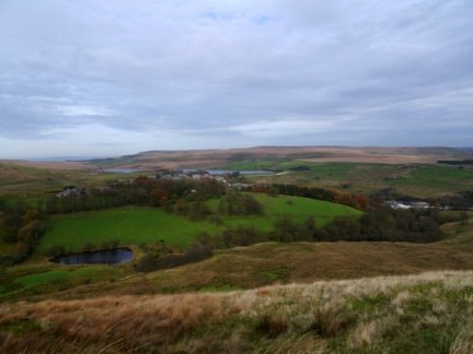 The view of Belmont from my route off Winter Hill