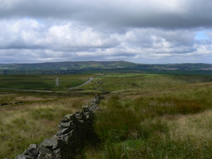 Darwen Hill from Rushy Hill
