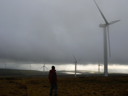 The Scout Moor Windfarm